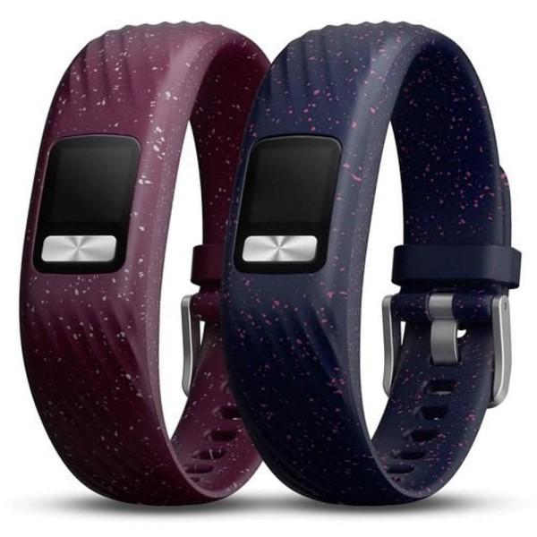 Garmin vivofit 4 Wechsel Armbänder in  Merlot + Navy Speckle / Gr. S-M bei CardioZone guenstig online kaufen