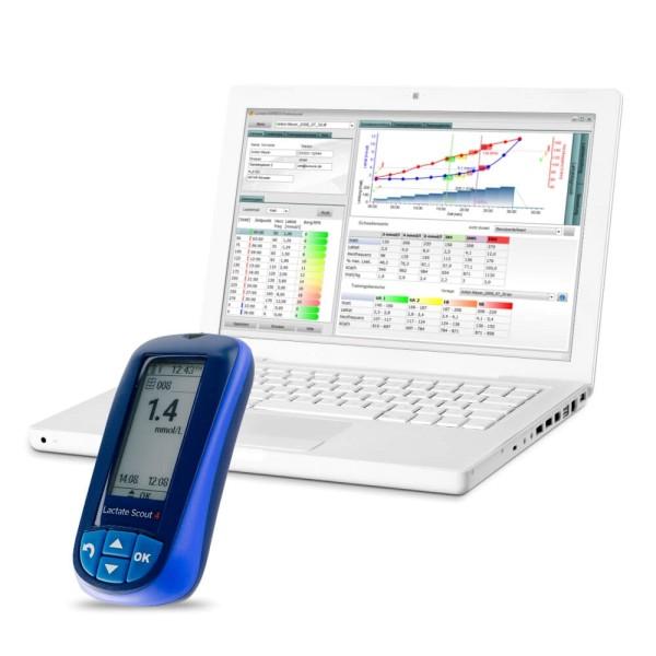Lactate EXPRESS 4.1 basic Laktatdiagnostik Software und Lactate Scout 4 Startset bei CardioZone günstig online kaufen