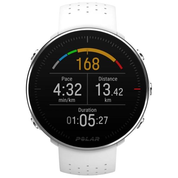 POLAR Vantage M weiss GPS Multisport Uhr in Größe M/L oder S bei CardioZone günstig online kaufen
