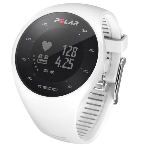 POLAR M200 GPS Laufuhr weiss mit Pulsmessung am Handgelenk bei CardioZone guenstig online kaufen