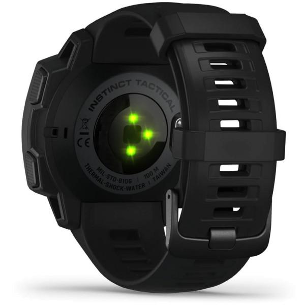 Garmin Instinct Tactical Outdoor Smartwatch - Schwarz bei CardioZone günstig online kaufen