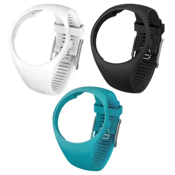 POLAR M200 Wechselarmband Schwarz, Weiss oder Blau bei CardioZone günstig online kaufen