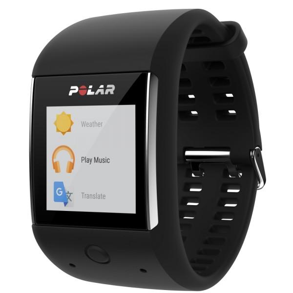 POLAR M600 GPS Smartwatch mit Android Wear in schwarz bei CardioZone guenstig online kaufen