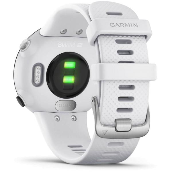 Garmin SWIM 2 Weiß/Silber GPS-Schwimmuhr bei CardioZone günstig online kaufen