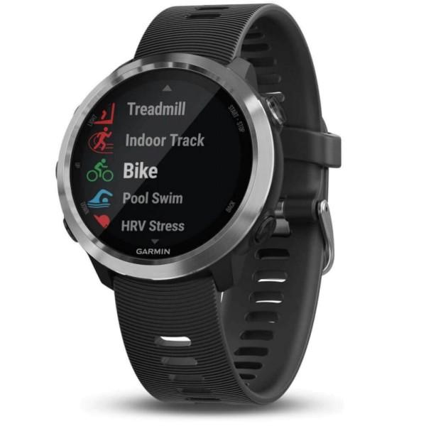 Garmin Forerunner 645 Music Schwarz/Silber GPS-Lauf Pulsuhr bei CardioZone guenstig online laufen
