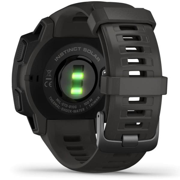 Garmin Instinct SOLAR Outdoor Smartwatch Schiefergrau bei CardioZone online kaufen