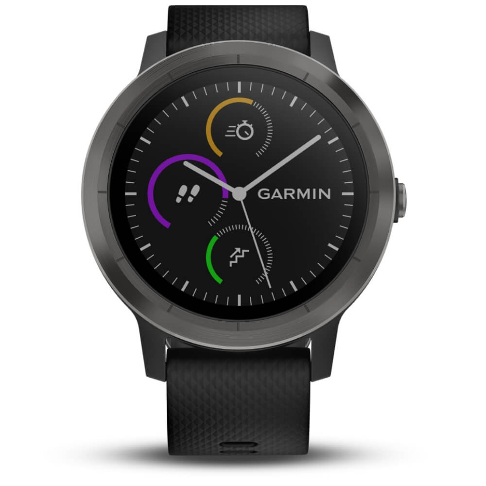 Vivoactive Multisport Smartwatch Schwarzgraugunmetal 3 In Gps Garmin mOyvnw0N8