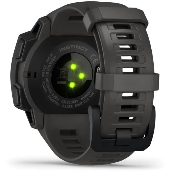 Garmin Instinct Outdoor Smartwatch - Schiefergrau/Schwarz bei CardioZone günstig online kaufen