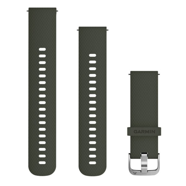Garmin Schnellwechsel-Armband 20mm moosgruenes Silikonarmband bei CardioZone guenstig online kaufen