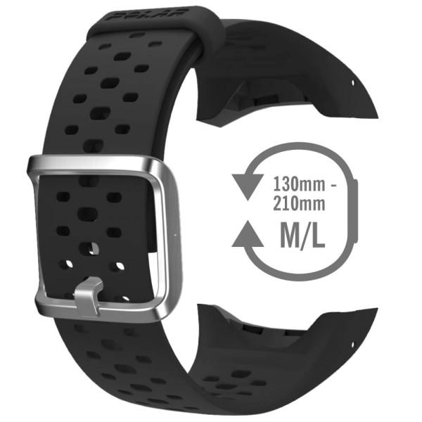 POLAR M400 / M430 Armband Schwarz - Ersatzteil bei CardioZone günstig online kaufen