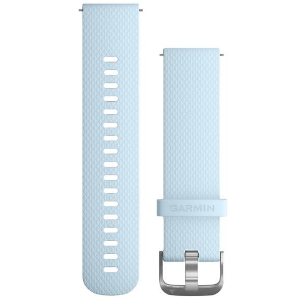 Garmin Schnellwechsel-Armband 20mm blaues Silikonarmband bei CardioZone guenstig online kaufen