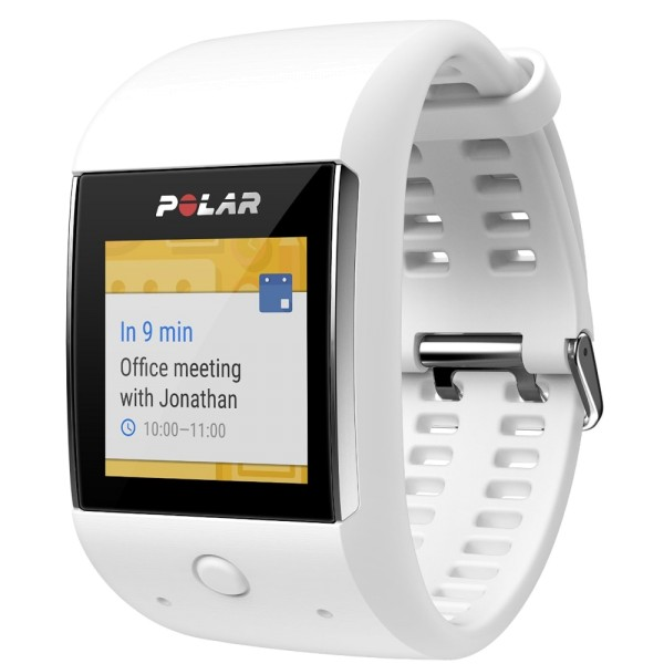 POLAR M600 GPS Smartwatch mit Android Wear 2.0 in weiss