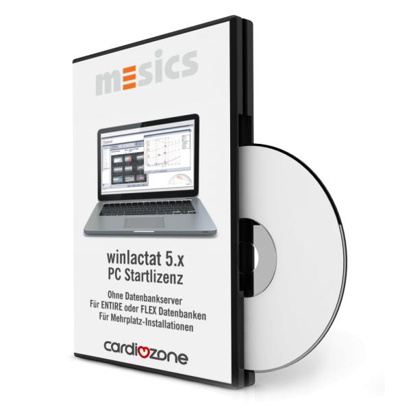 winlactat 5.x PC Startlizenz - ohne Datenbankserver - bei CardioZone guenstig online kaufen