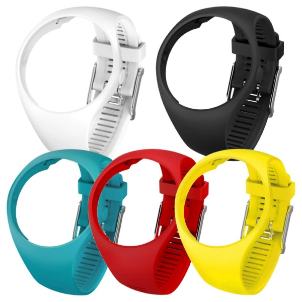 POLAR M200 Wechsel Armbaender in schwarz, weiss, rot, gelb und blau bei CardioZone guenstig online kaufen
