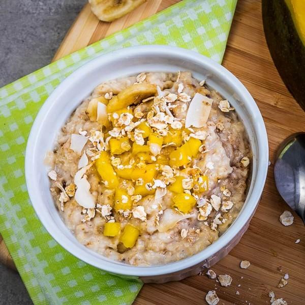 Fit4Day Protein Porridge 5x 50 g Beutel Exotic bei CardioZone günstig online kaufen