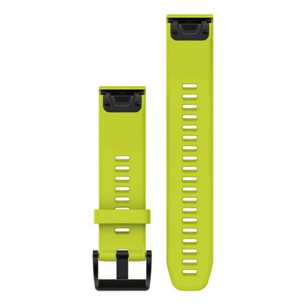 Garmin fenix 5 QuickFit Silikon Armband in gelb und 22mm Breite bei CardioZone guenstig online kaufen