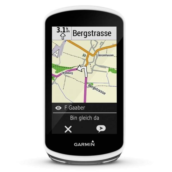 Garmin Edge1030 GPS Radcomputer mit integrierter Europakarte bei CardioZone guenstig online kaufen