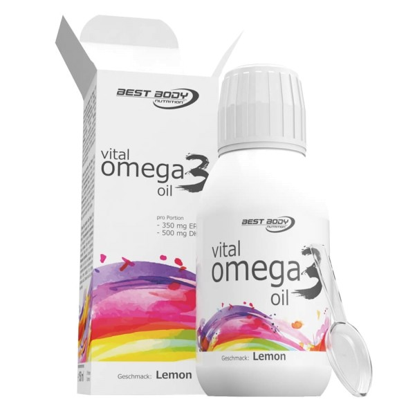 Best Body Nutrition - Vital Omega 3 Oil 150 ml bei CardioZone guenstig online kaufen