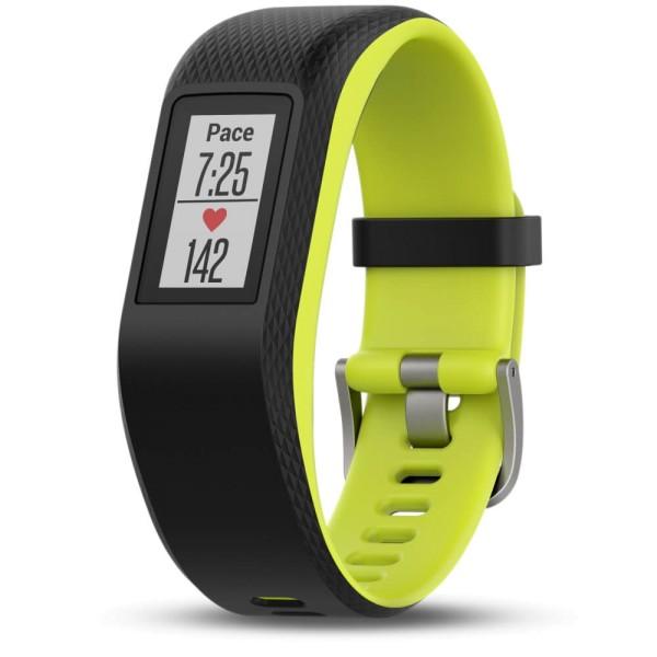 Garmin vivosport Fitness Armband GPS + Pulsmessung schwarz/grün Größe L bei CardioZone guenstig online kaufen