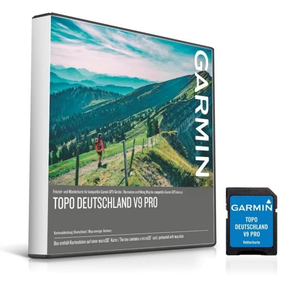Garmin Topo Deutschland V9 PRO Vectorkarte auf microSD bei CardioZone günstig online kaufen