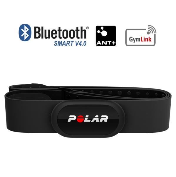 POLAR H10 Bluetooth Smart & ANT+ Herzfrequenz Sender Schwarz M-XXL bei CardioZone günstig online kaufen