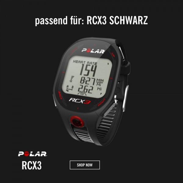 POLAR RCX3 Armband Schwarz M-L - Ersatzteil bei CardioZone günstig online kaufen