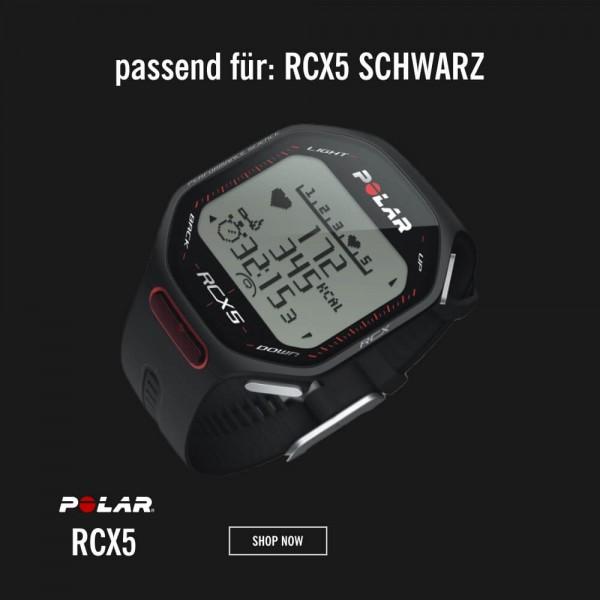 POLAR RCX5 Armband Schwarz M-L - Ersatzteil bei CardioZone günstig online kaufen