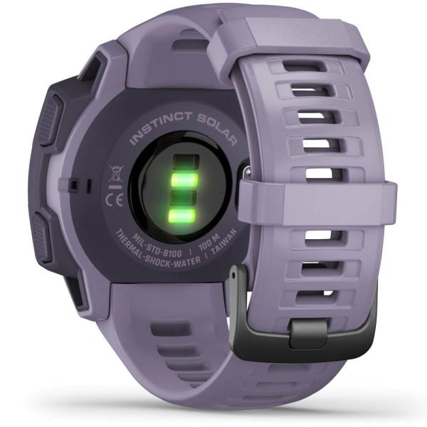 Garmin Instinct SOLAR Outdoor Smartwatch Lila bei CardioZone online kaufen