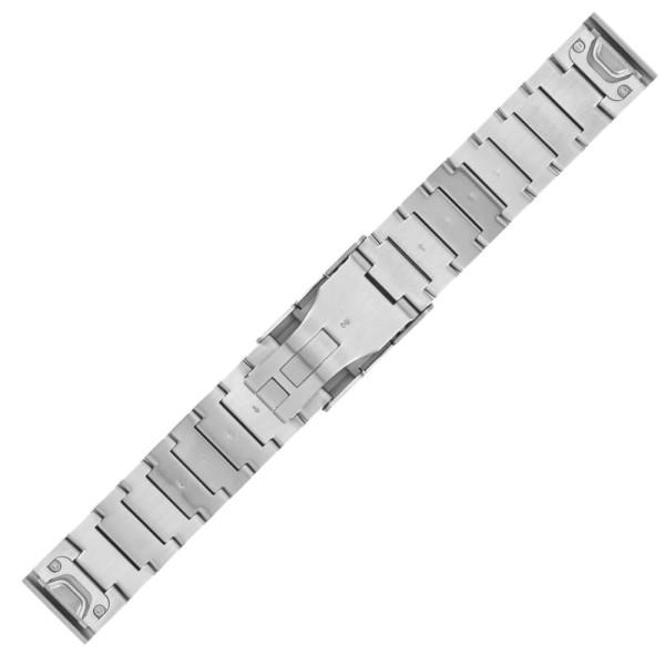 Garmin Quickfit 22mm Edelstahl Metall-Armband Silber bei CardioZone günstig online kaufen