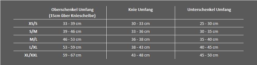 Compex-Bracing-Kompression-Sportbandagen-Groessentabelle-Anaform-Knie-01