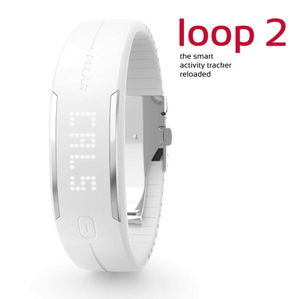 POLAR Loop 2 Activity Tracker in weiss bei CardioZone günstig online kaufen