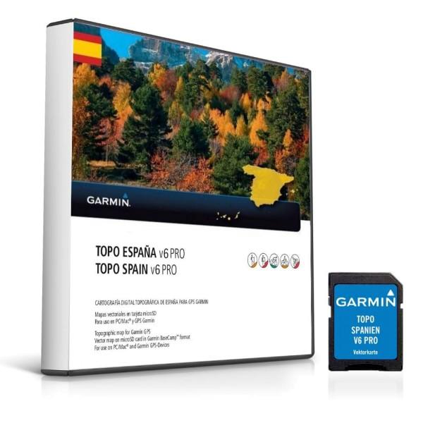 Garmin Topo Spanien V6 Pro  microSD bei CardioZone guenstig online kaufen