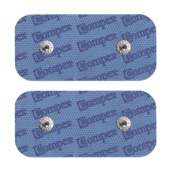 Compex Multipack 10 Beutel DUAL SNAP Elektroden 5x10cm