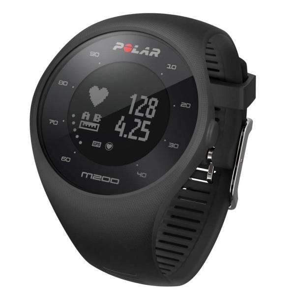 POLAR M200 GPS Lauf Pulsuhr in schwarz mit Pulsmessung am Handgelenk bei CardioZone guenstig online kaufen
