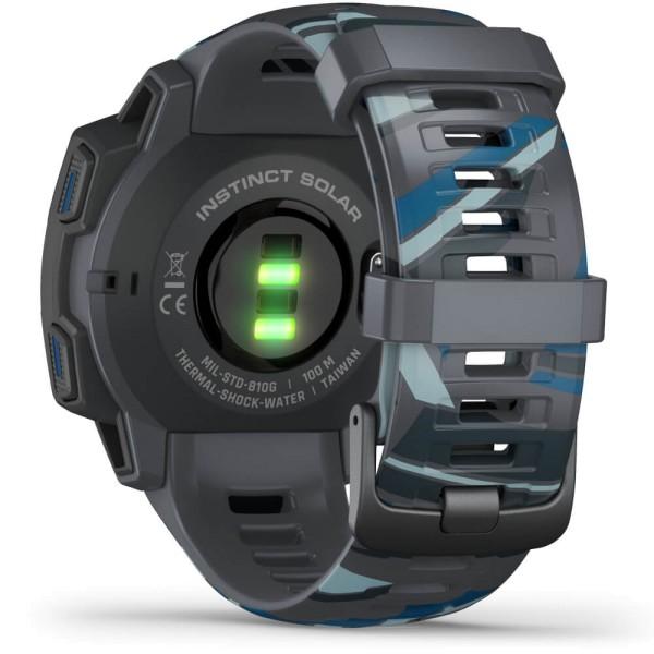 Garmin Instinct SOLAR Surf EditionPipeline Outdoor Smartwatch bei CardioZone online kaufen