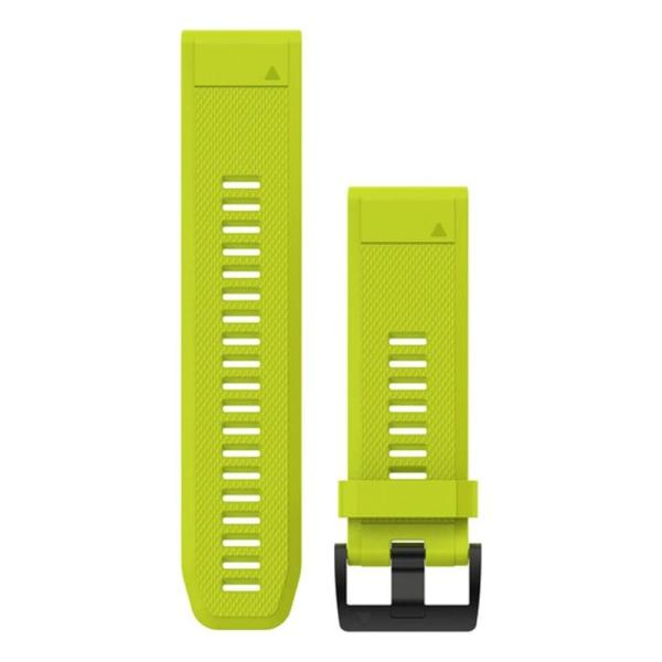 Garmin fenix 5X QuickFit Silikon Armband in gelb und 26mm Breite bei CardioZone guenstig online kaufen - passend auch für Garmin fenix 3