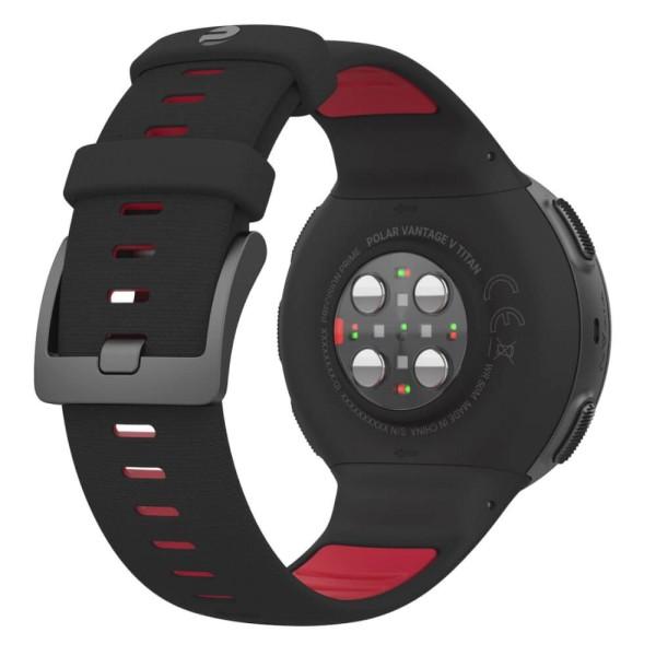 POLAR Vantage V Titan Schwarz/Rot Profi-GPS Multisport Uhr bei CardioZone günstig online kaufen