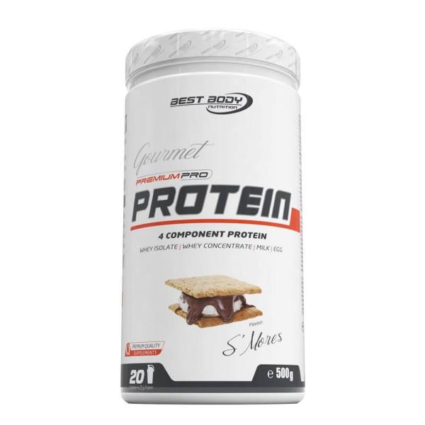 Best Body Gourmet Premium Pro Protein - S´Mores - 500 g Dose bei CardioZone günstig online kaufen