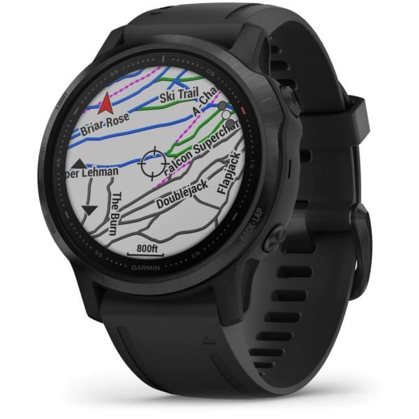 Garmin fenix6S PRO Schwarz - Armband Schwarz bei CardioZone günstig online kaufen