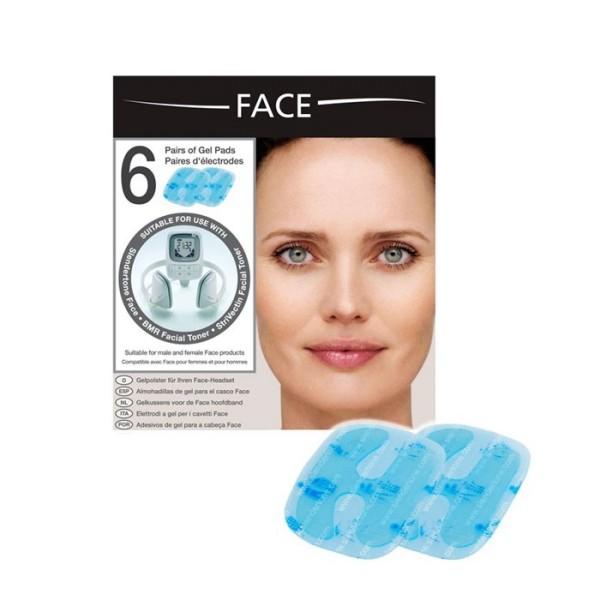 Slendertone FACE Unisex Elektroden 6 St. für Gesichtstrainer