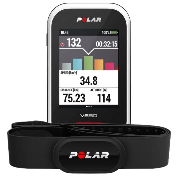POLAR V650 HR GPS Radcomputer mit H10 Brustgurt guenstig bei CardioZone online kaufen