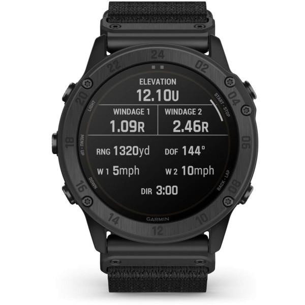 Garmin tactix Delta Solar Ballistic Edition Schwarz GPS Multisport Smartwatch bei CardioZone online kaufen