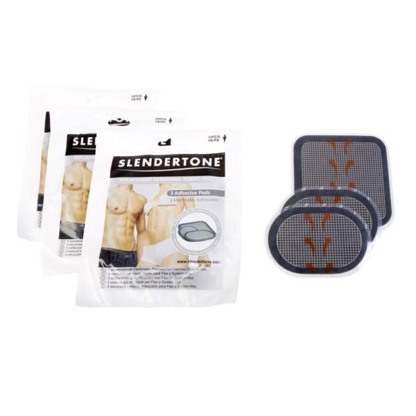 Slendertone Vorteilspack - ABs Bauchtrainer Pads - 3 Sets zum Preis von 2