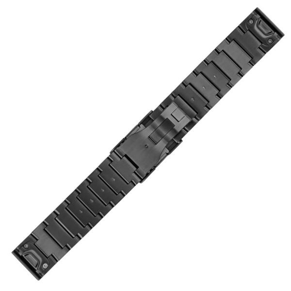 Garmin Quickfit 22mm Edelstahl Metall-Armband Schiefergrau bei CardioZone günstig online kaufen