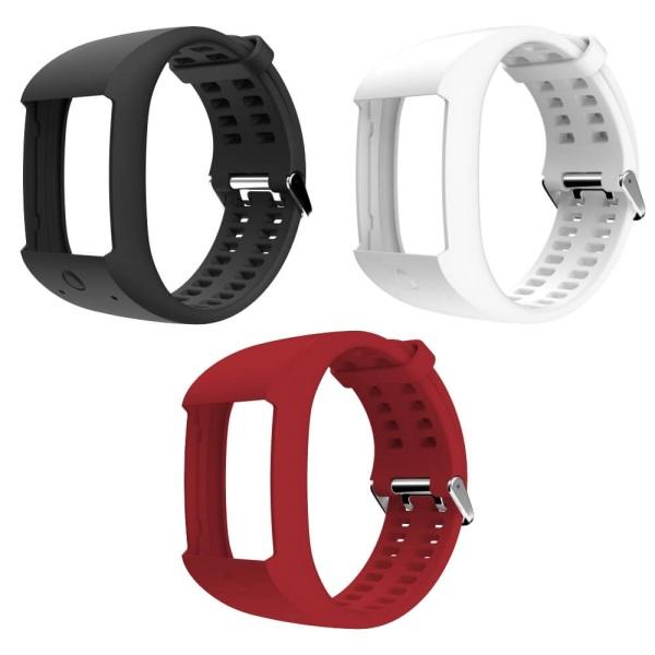 POLAR M600 Wechsel Armband in schwarz, rot oder weiss guenstig bei CardioZone online kaufen