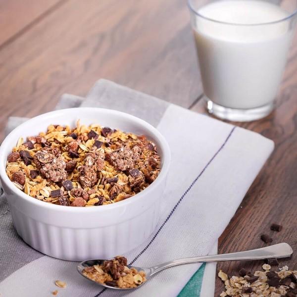 Fit4Day Protein Müsli Schoko - 375 g Zipp-Beutel bei CardioZone günstig online kaufen