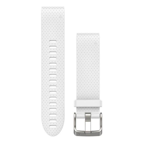 Garmin fenix 5S QuickFit Silikon Armband in weiß und 20mm Breite bei CardioZone guenstig online kaufen