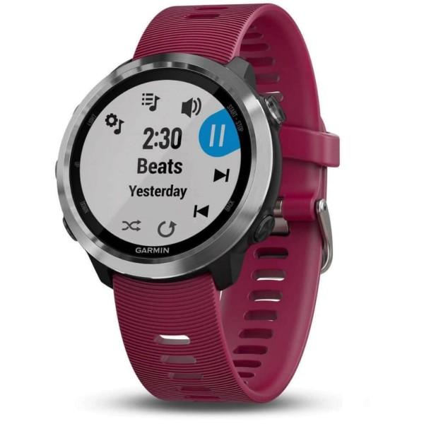 Garmin Forerunner 645 Music Kirschrot/ Silber GPS-Lauf Pulsuhr bei CardioZone guenstig online laufen