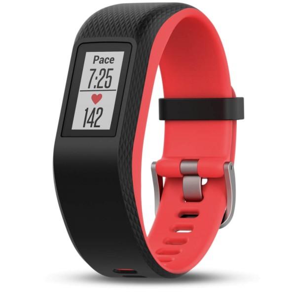 Garmin vivosport Fitness Armband GPS + Pulsmessung schwarz/rot Größe S-M bei CardioZone guenstig online kaufen