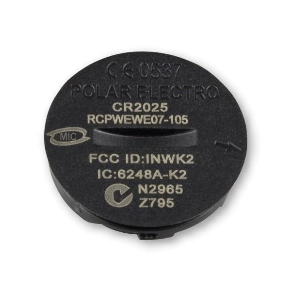 POLAR Batterie-Set CR2025 für viele Brustgurte + Fitness Pulsuhren - mit Deckel + Dichtung